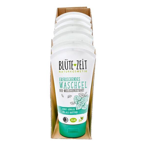 BLÜTE-ZEIT Waschgel Melisse 150 ml, 6er Pack