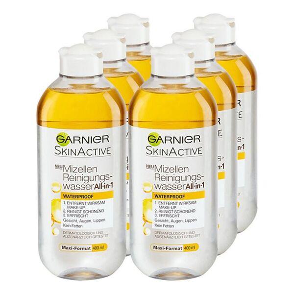 Garnier Skin Active Mizellenwasser All-in-One 400 ml, 6er Pack