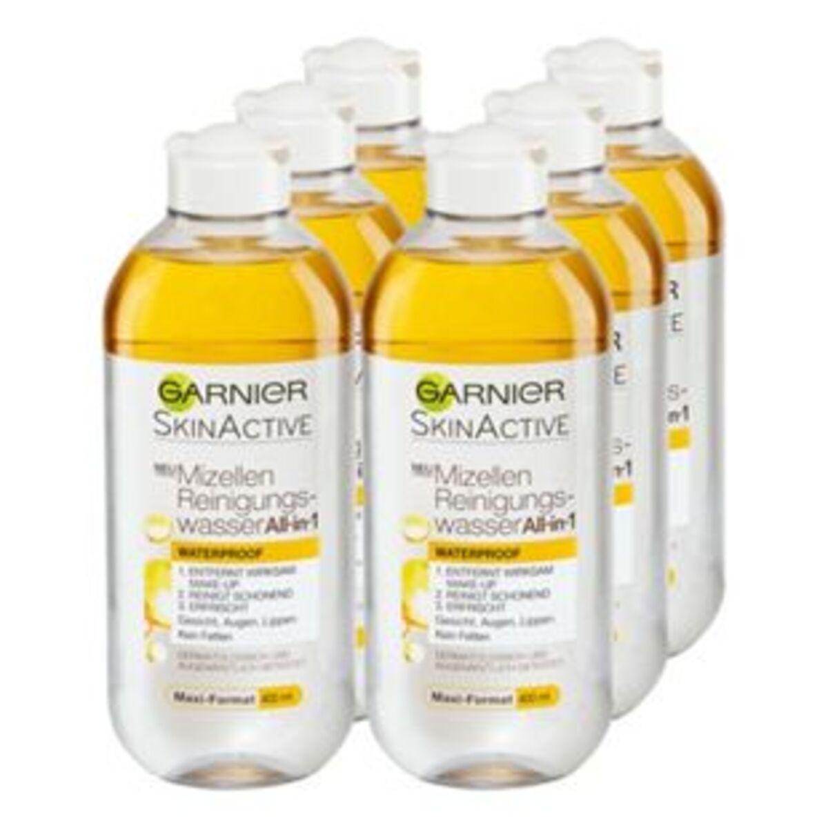 Bild 2 von Garnier Skin Active Mizellenwasser All-in-One 400 ml, 6er Pack