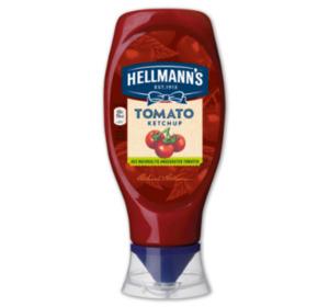HELLMANN'S Tomatenketchup oder Tomaten-Ketchup zuckerreduziert