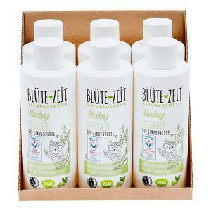 BLÜTE-ZEIT BABY Pflegeöl Bio-Lindenblüte 200 ml, 6er Pack