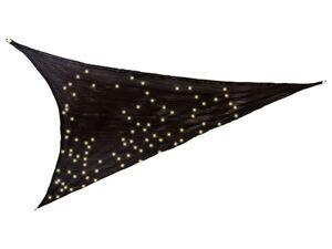 FLORABEST Sonnensegel, mit LED Beleuchtung