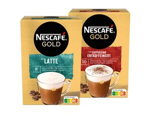 Nescafé Gold Typ Latte/Cappuccino