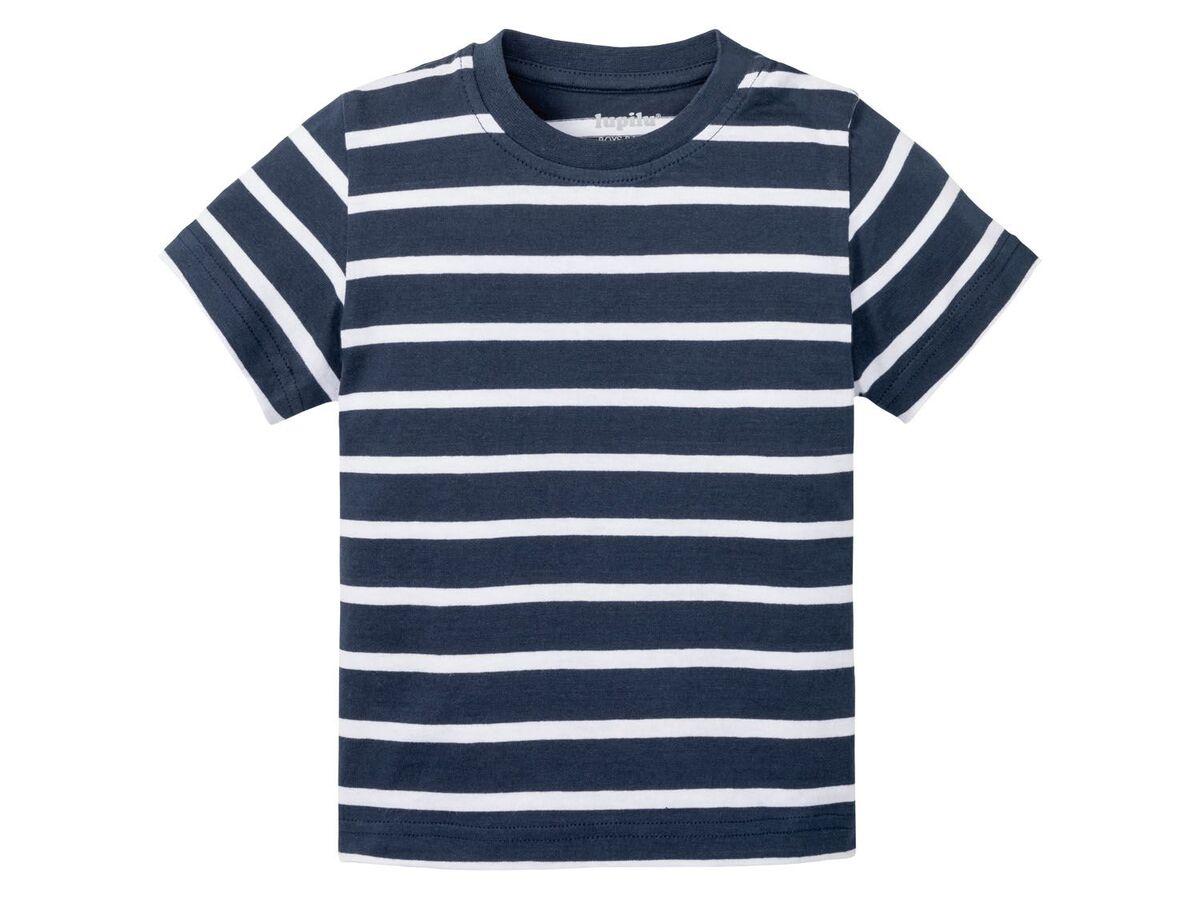 Bild 2 von LUPILU® Kleinkinder T-Shirts Jungen, 3 Stück