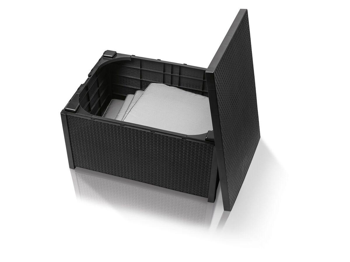 Bild 3 von FLORABEST Loungeset mit Tisch, 4-teilig, in Rattan-Optik