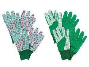 PARKSIDE® Gartenhandschuhe, 2 Paar, mit Noppenprofil