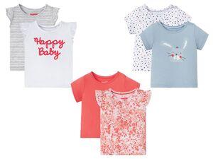 LUPILU® Baby T-Shirts Mädchen, aus reiner Bio-Baumwolle