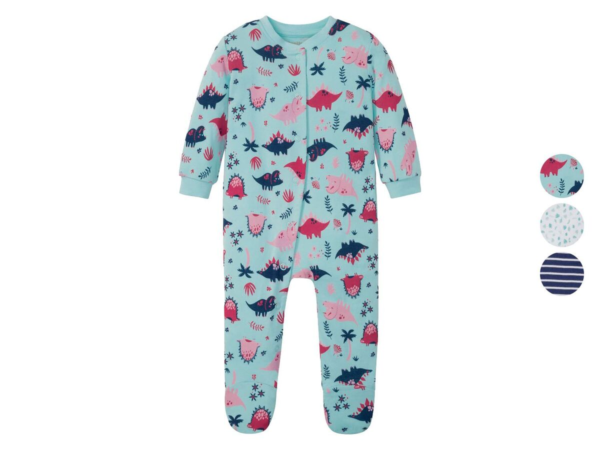 Bild 1 von LUPILU® Baby Schlafoverall Mädchen, mit Druckknöpfen