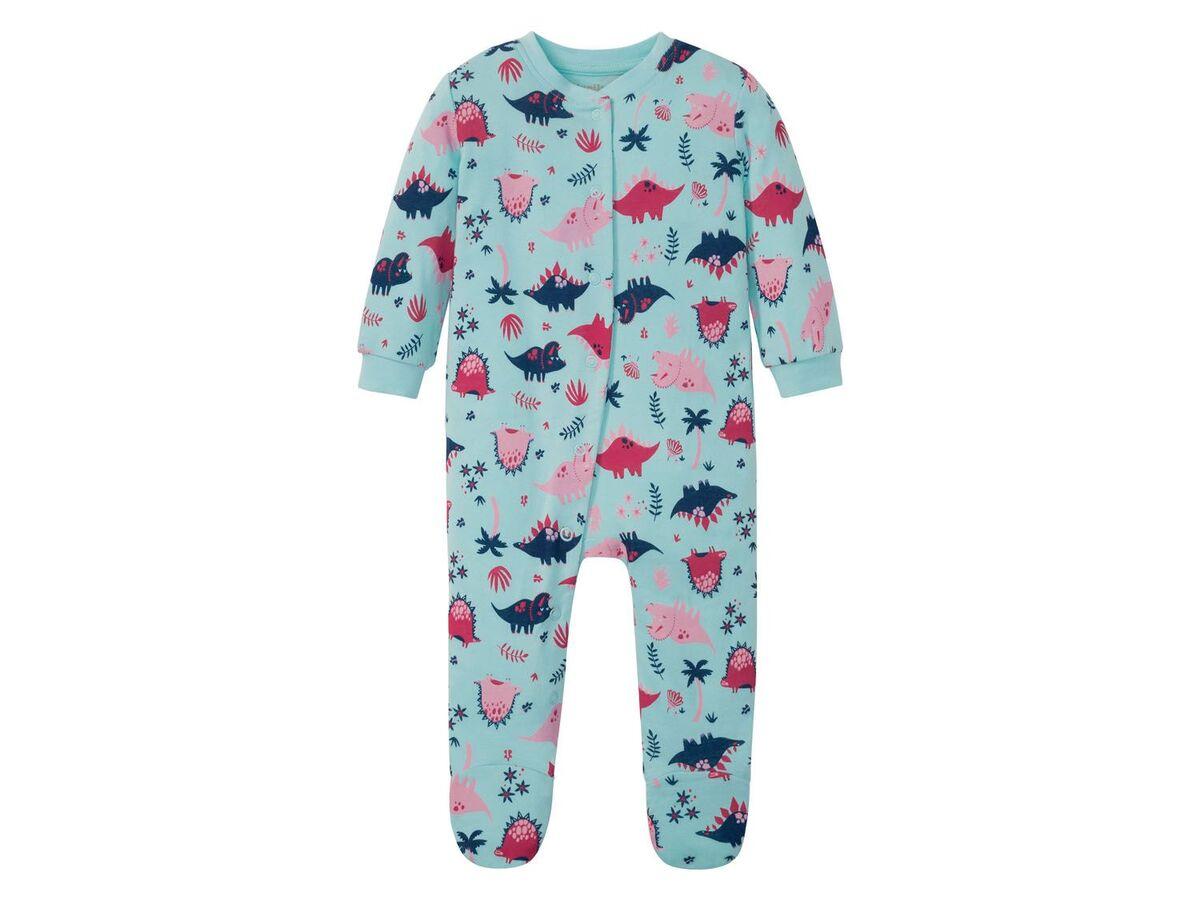 Bild 2 von LUPILU® Baby Schlafoverall Mädchen, mit Druckknöpfen
