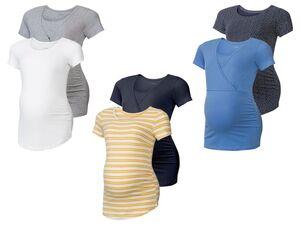 ESMARA® Umstands-T-Shirts Damen, 2 Stück, mit Baumwolle