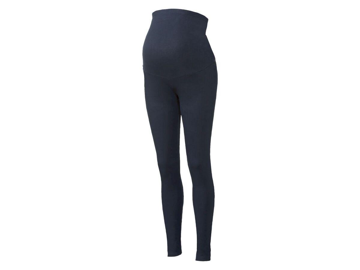 Bild 2 von ESMARA® Umstands-Leggings Damen, mit elastischem Bund