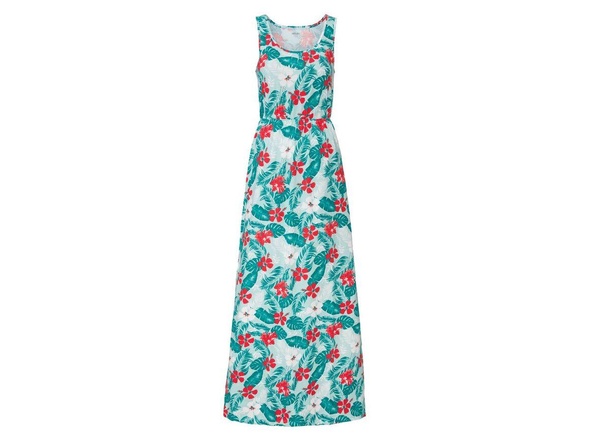 Bild 2 von ESMARA® Kleid Damen, mit Seitenschlitzen, Gummizug