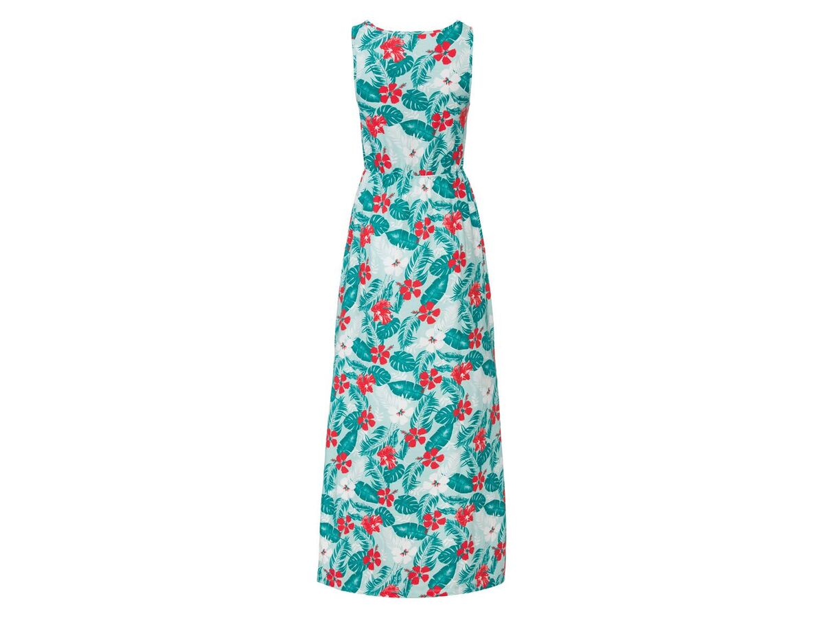 Bild 4 von ESMARA® Kleid Damen, mit Seitenschlitzen, Gummizug