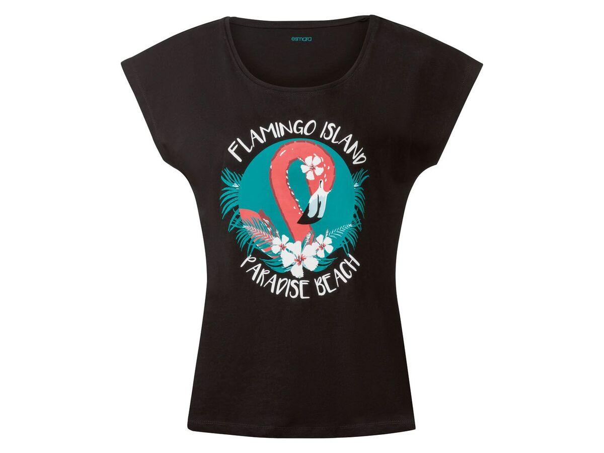 Bild 4 von ESMARA® T-Shirt Damen, aus reiner Baumwolle