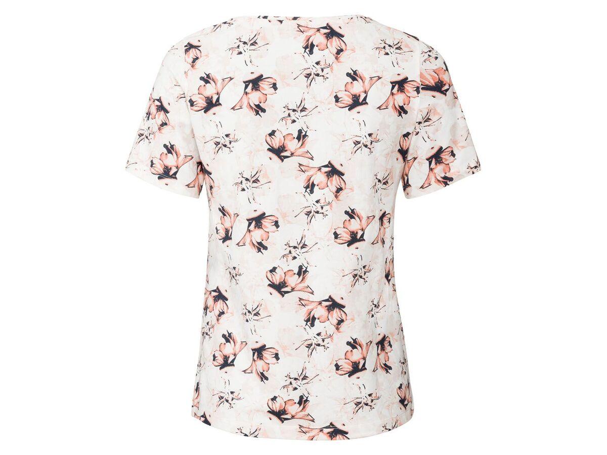 Bild 4 von ESMARA® T-Shirts Damen, 2 Stück, mit Print
