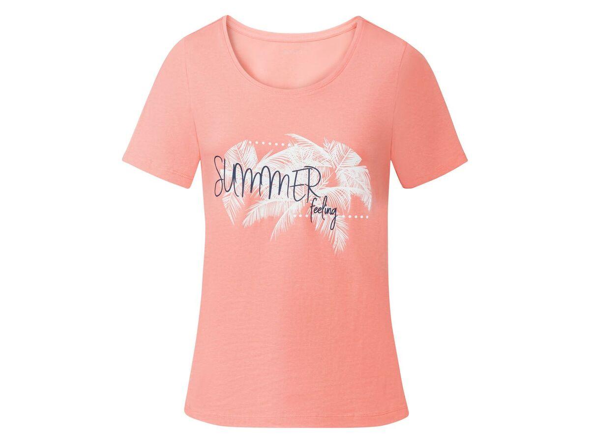 Bild 5 von ESMARA® T-Shirts Damen, 2 Stück, mit Print