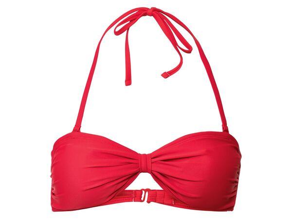 ESMARA® Bandeau Bikini Oberteil Damen, mit Elasthan