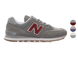 New Balance Herren Sneaker Modell 574, mit robuster Gummi-Außensohle