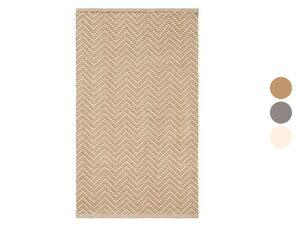 MERADISO® Teppich, 67 x 120 cm, aus Baumwolle