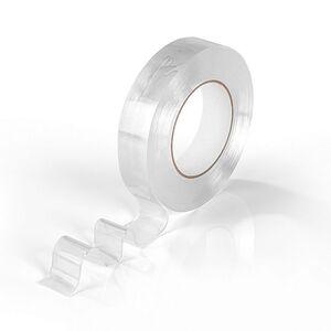 MAXXMEE Spurenloses Klebeband doppelseitig 5m transparent
