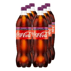 Coca-Cola Zero Cherry 1,25 Liter, 6er Pack