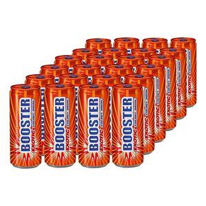Booster Energy Drink Exotic 0,33 Liter Dose, 24er Pack