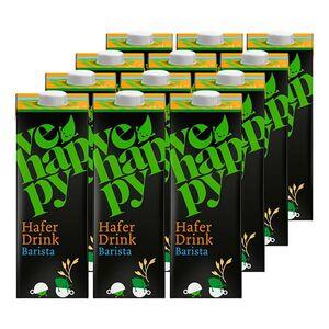 vehappy Hafer Barista Drink 1 Liter, 12er Pack