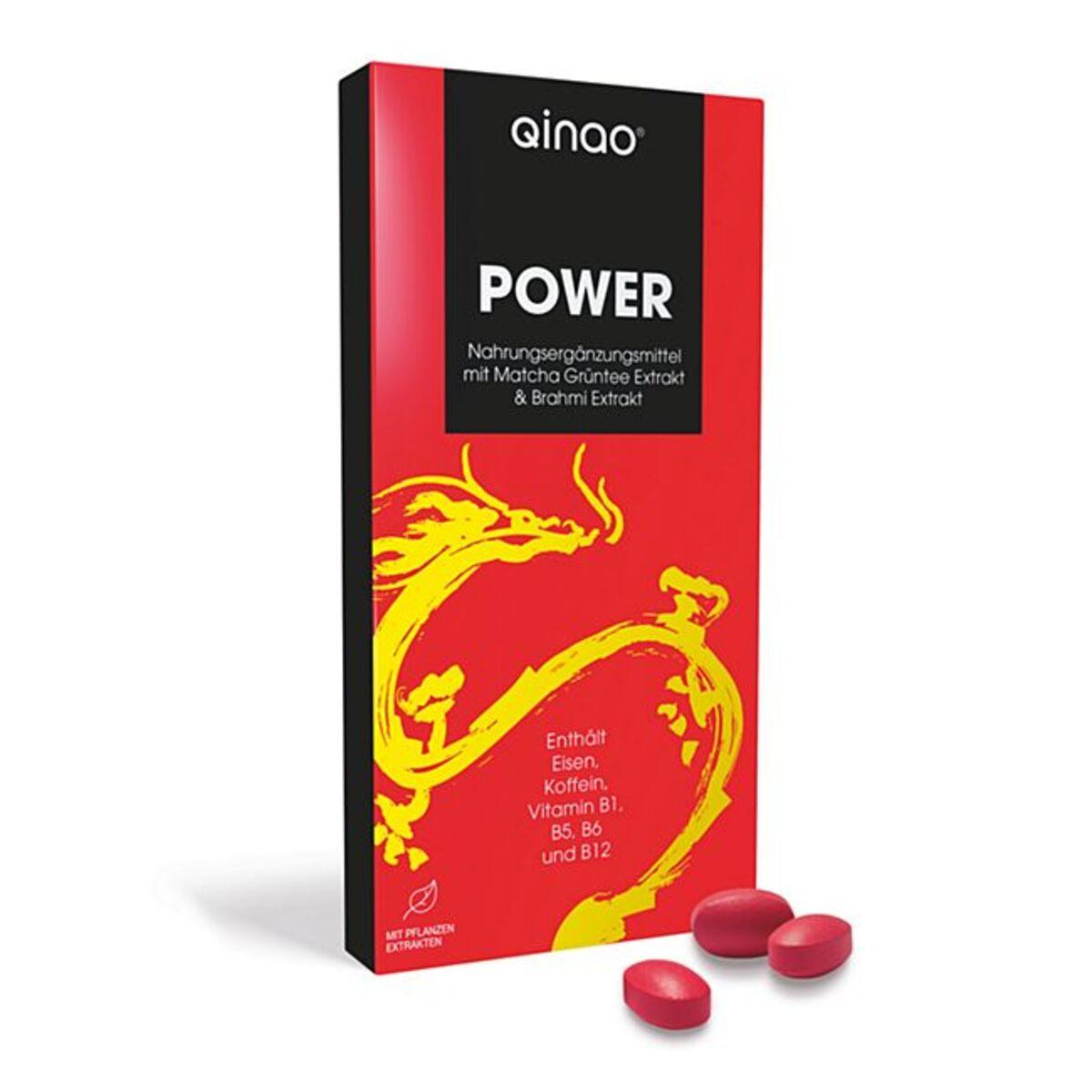 Bild 1 von qinao Nahrungsergänzungsmittel mit Koffein