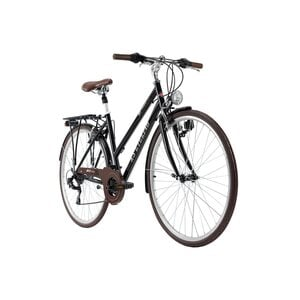KS Cycling Trekkingrad Damen 28 Zoll Venice 21 Gänge, Größe: 53, Schwarz