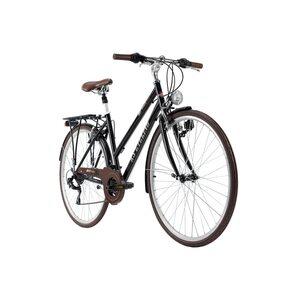 KS Cycling Trekkingrad Damen 28 Zoll Venice 21 Gänge, Größe: 48, Schwarz