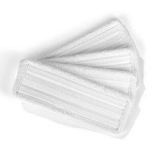 MAXXMEE Bodentuch für Vibrationsmopp - 4er-Set - weiß