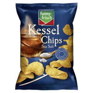 Funny-frisch Kessel Chips Sea Salt 120g