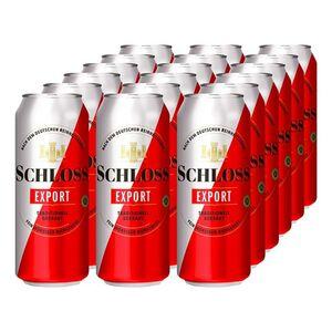 Schloss Export 5,2 % vol 0,5 Liter Dose, 18er Pack