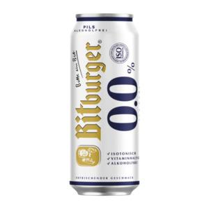 BITBURGER     0,0 % Pils