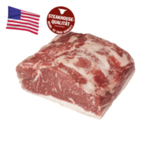 US Black Angus Beef frisches Roastbeef oder Rumpsteak