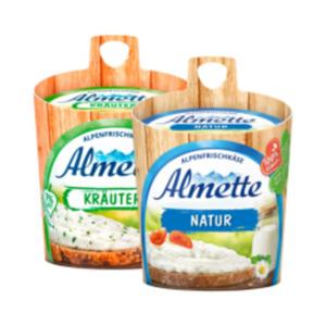 Almette oder Gervais Hüttenkäse