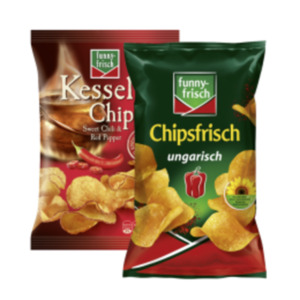 funny-frisch, Chio Chips oder Kesselchips