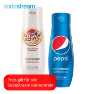 SodaStream Getränkesirupe