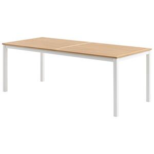 Gartentisch RAMTEN (90x206, weiß)