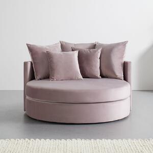 SOFA in rosa inkl. 5 Kissen 'Elena'