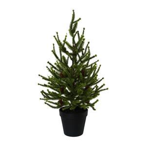 Kunstpflanze Fichte in Grün ca. 55cm