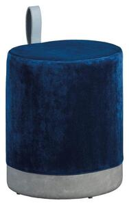 Hocker in Blau/Grau 'Osane'