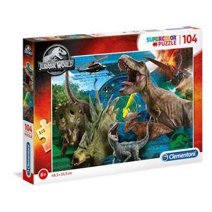 Jurassic World - Puzzle - 104 Teile