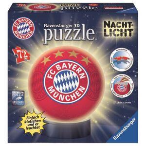 3D Puzzle-Ball - FC Bayern München - Nachtlicht - 72 Teile