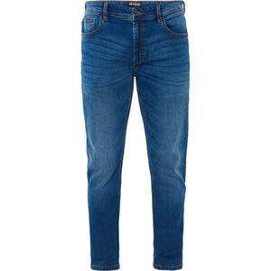 MANGUUN Jeans, Waschung, 5-Pocket-Jeans, Regular Fit, für Herren