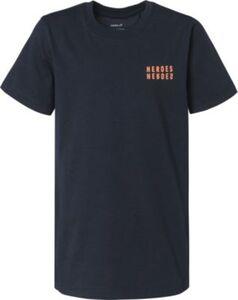 T-Shirt , Organic Cotton blau Gr. 104 Jungen Kleinkinder