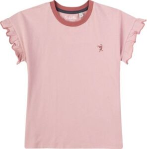 T-Shirt , Organic Cotton rosa Gr. 128 Mädchen Kinder