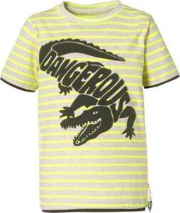T-Shirt  neongelb Gr. 92/98 Jungen Kleinkinder