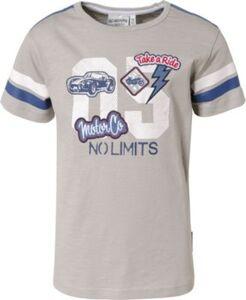 T-Shirt , Auto hellgrau Gr. 116/122 Jungen Kinder