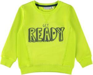 Sweatshirt NMMKAMIC , Organic Cotton gelb Gr. 116 Jungen Kinder